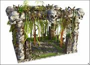 Ruinas de arqueología modelo 3d