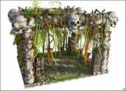 考古学遺跡 3d model
