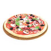 피자 (1) 3d model