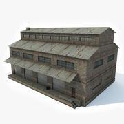 Factory Building 1 3d model