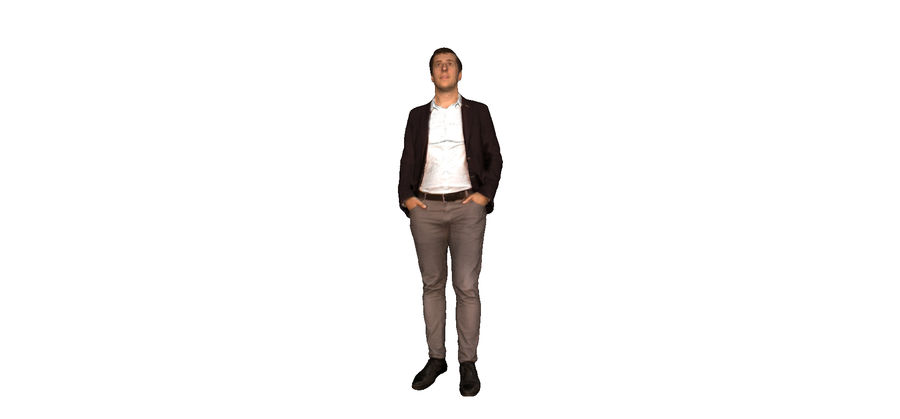 Umano-2014 royalty-free 3d model - Preview no. 1
