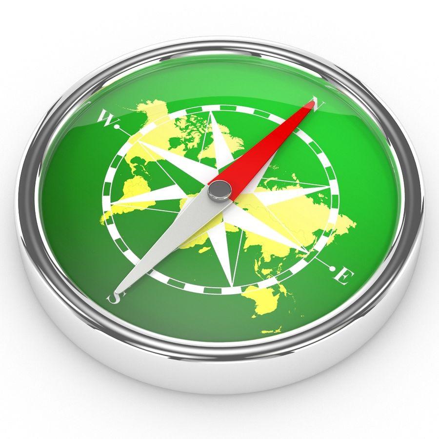 Kompass royalty-free 3d model - Preview no. 4