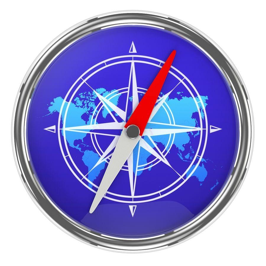 Kompass royalty-free 3d model - Preview no. 6