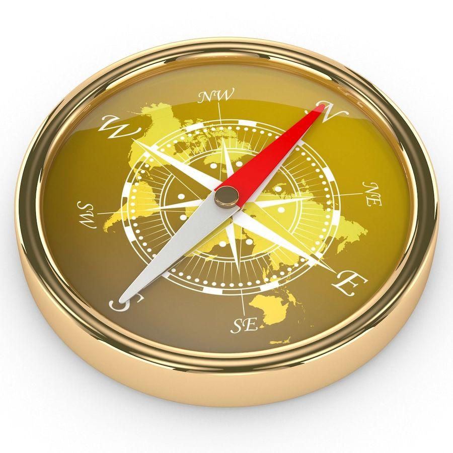 Kompass royalty-free 3d model - Preview no. 5