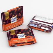 Ritter Sport Honey Salt Almonds 3d model