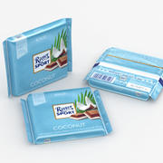Ritter Sport Coconut 3d model