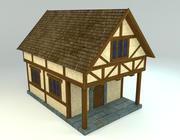 Medieval house (Krider) 3d model