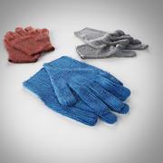 Wool gloves 3d model