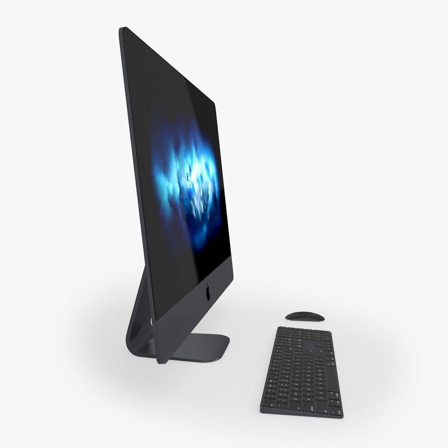 iMac Pro 27英寸2017年套装 royalty-free 3d model - Preview no. 3