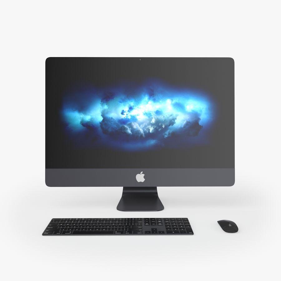iMac Pro 27英寸2017年套装 royalty-free 3d model - Preview no. 2