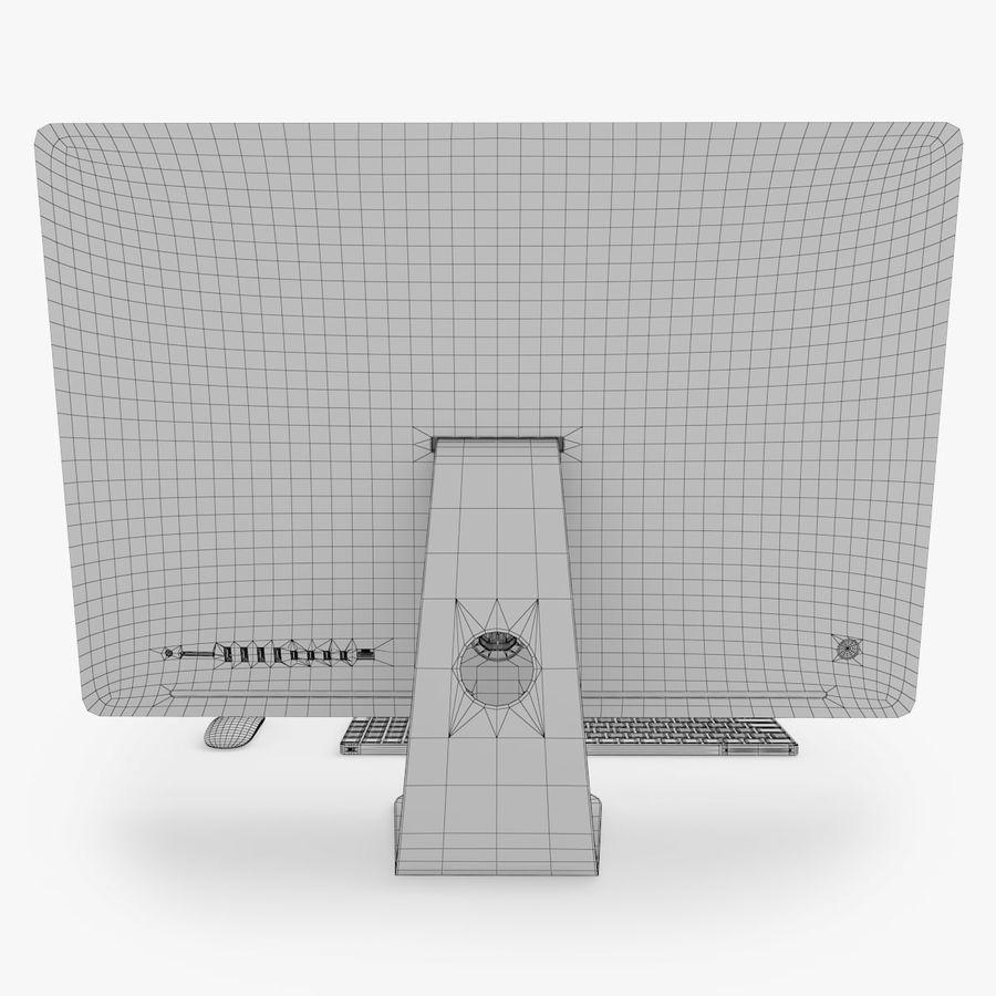 iMac Pro 27英寸2017年套装 royalty-free 3d model - Preview no. 16