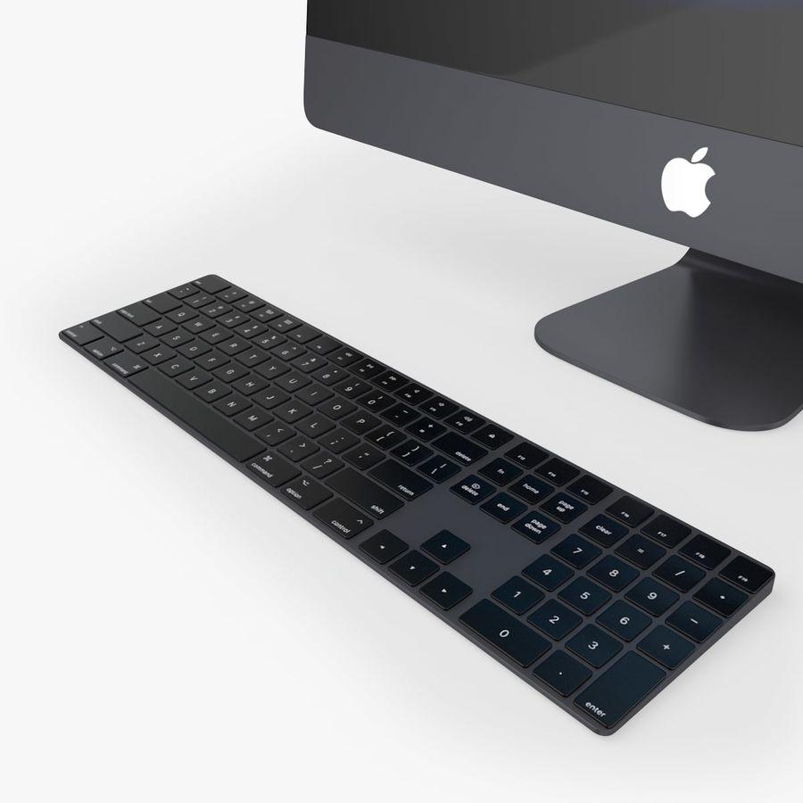 iMac Pro 27英寸2017年套装 royalty-free 3d model - Preview no. 10