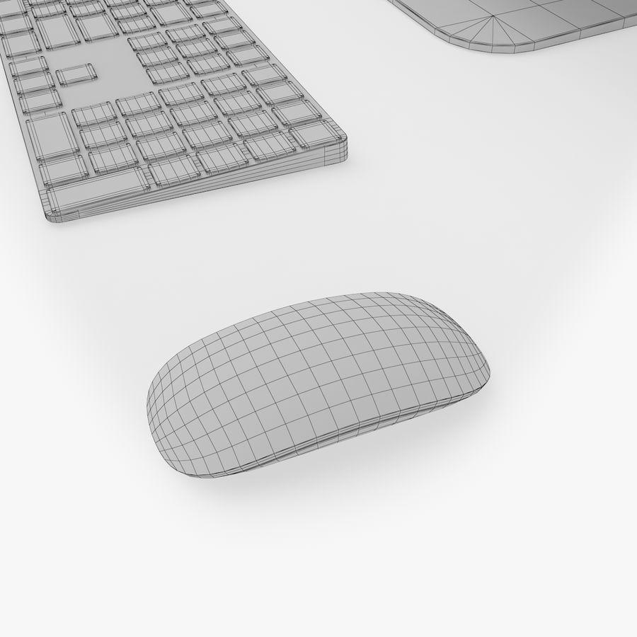 iMac Pro 27英寸2017年套装 royalty-free 3d model - Preview no. 18