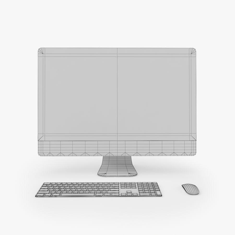 iMac Pro 27英寸2017年套装 royalty-free 3d model - Preview no. 15