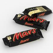 Mars Candy Bar 50g 3d model