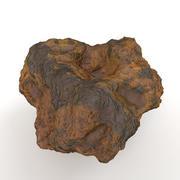 Roccia vulcanica gialla 3d model