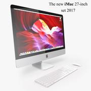 Новый набор iMac 2017 3d model