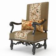 Fotel z XVIII wieku 3d model