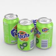 Napój Can Fanta Exotic 330ml 3d model