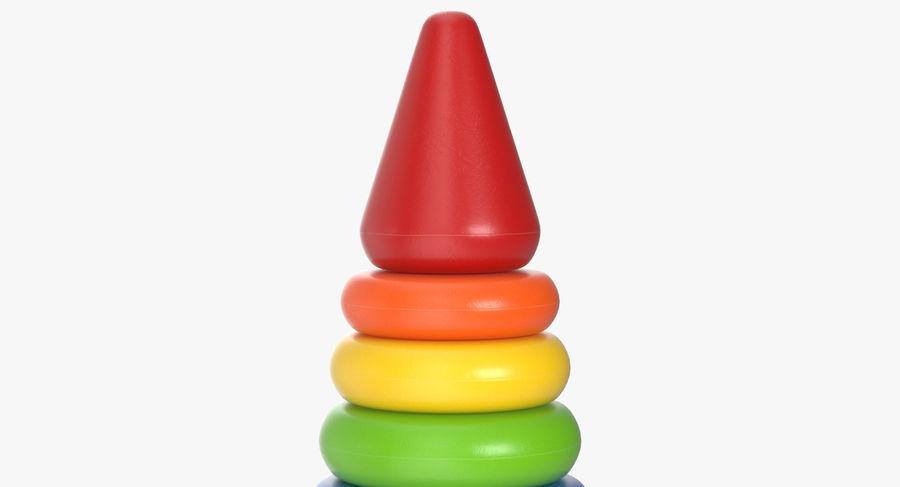 おもちゃのピラミッド royalty-free 3d model - Preview no. 6