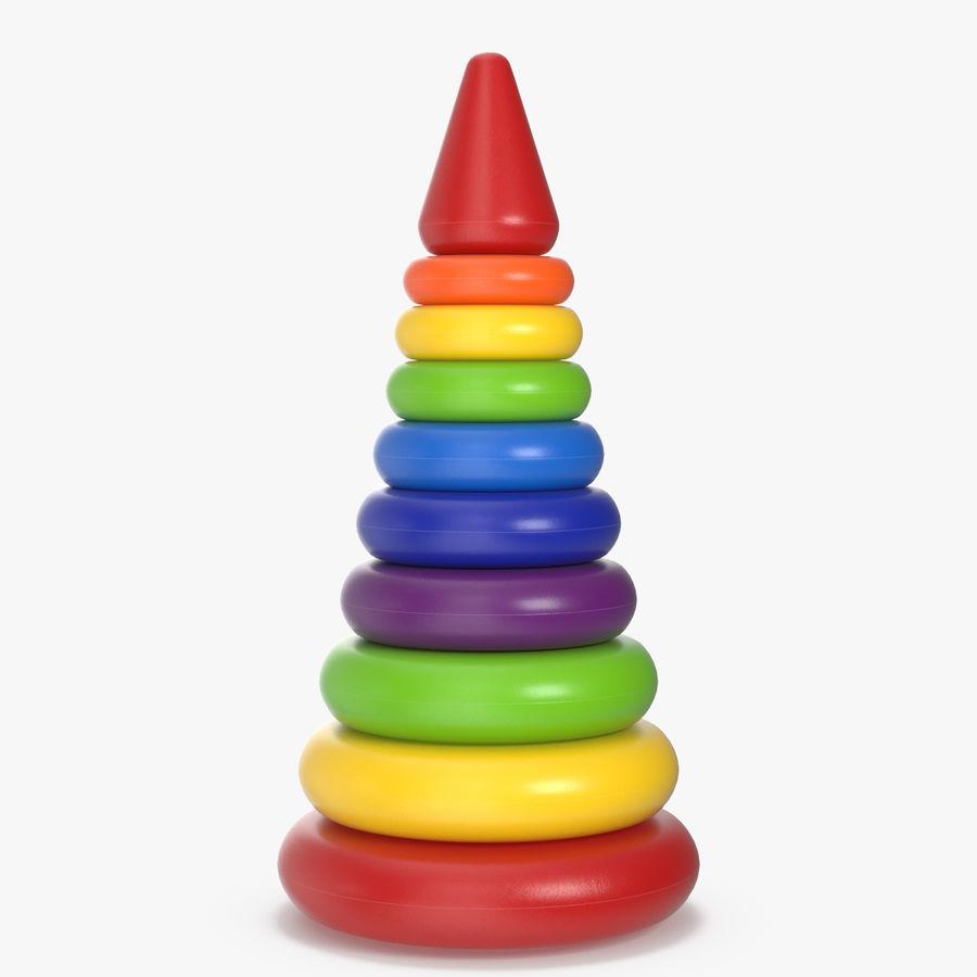 おもちゃのピラミッド royalty-free 3d model - Preview no. 1