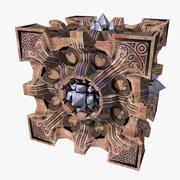 Kristal Küp 3d model