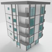 mieszkanie 2 3d model