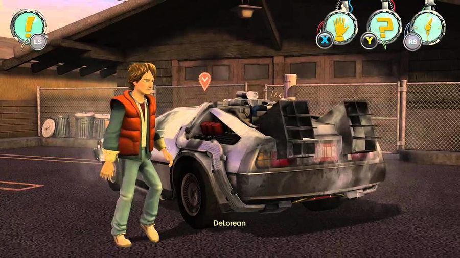 Back to the Future-Delorean royalty-free 3d model - Preview no. 6