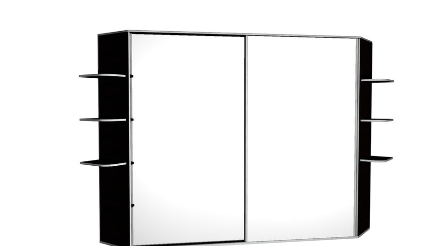 Skåp - skåp royalty-free 3d model - Preview no. 1