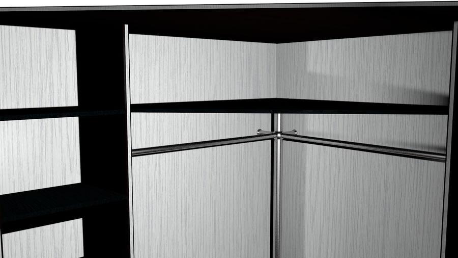 Skåp - skåp royalty-free 3d model - Preview no. 6
