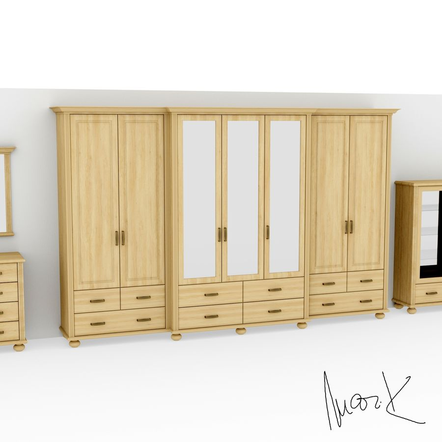 Living room, furniture royalty-free 3d model - Preview no. 4