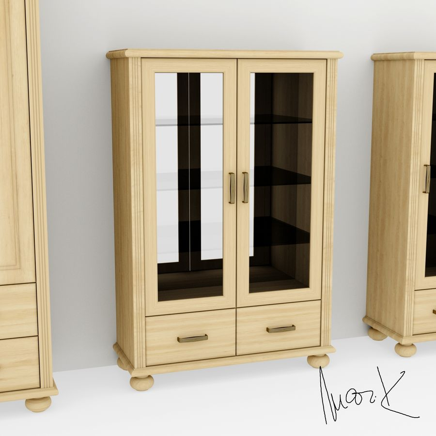 Living room, furniture royalty-free 3d model - Preview no. 5