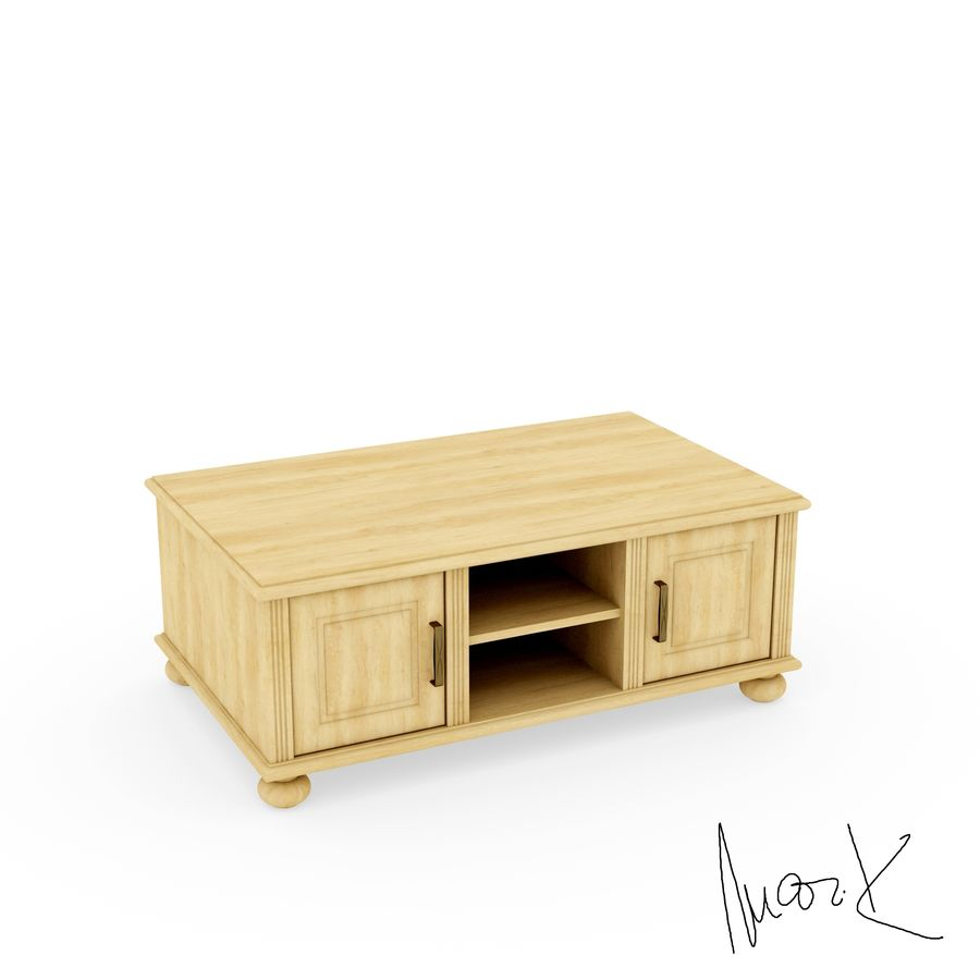 Living room, furniture royalty-free 3d model - Preview no. 7