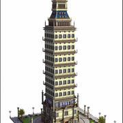 Tower Building V2 3d model