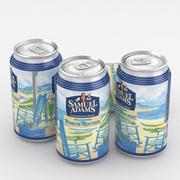 Lata de cerveza Samuel Adams Porch Rocker 12fl oz modelo 3d