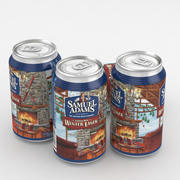Puszka piwa Samuel Adams Winter Lager 12fl oz 3d model