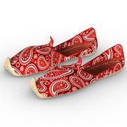 Punjabi jutti (chaussures de sport) 3d model