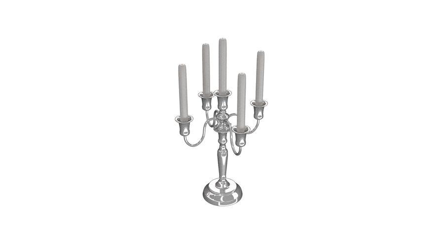 candelabro - candelabro royalty-free 3d model - Preview no. 4