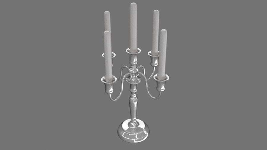 candelabro - candelabro royalty-free 3d model - Preview no. 6