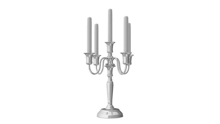candelabro - candelabro royalty-free 3d model - Preview no. 2