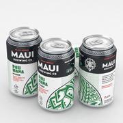 Bira Maui Pau olabilir Hana Hana Pilsner 12fl oz 3d model