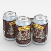 Beer Can Река Сьерра-Невада Рай-Рид МПА 12fl oz 3d model