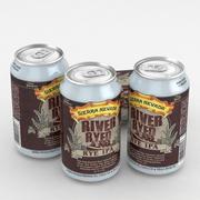 Beer Can Sierra Nevada River Ryed Rye IPA 12fl oz 3d model