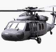 BlackHawk UH60 3d model