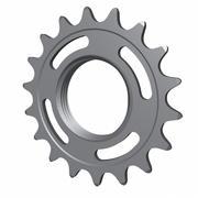 Cycling Fixed Gear Cog 3d model