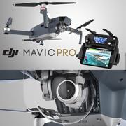DJI Mavic Pro 3d model