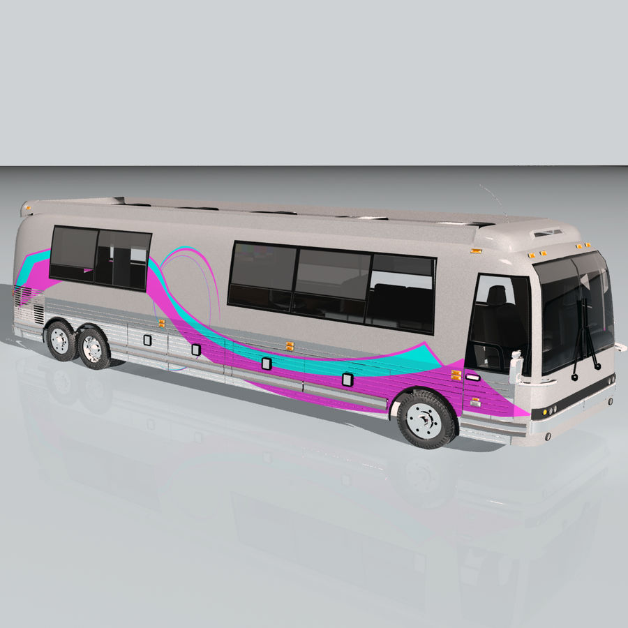 Luxury Motorhome Bus Coversion royalty-free 3d model - Preview no. 9