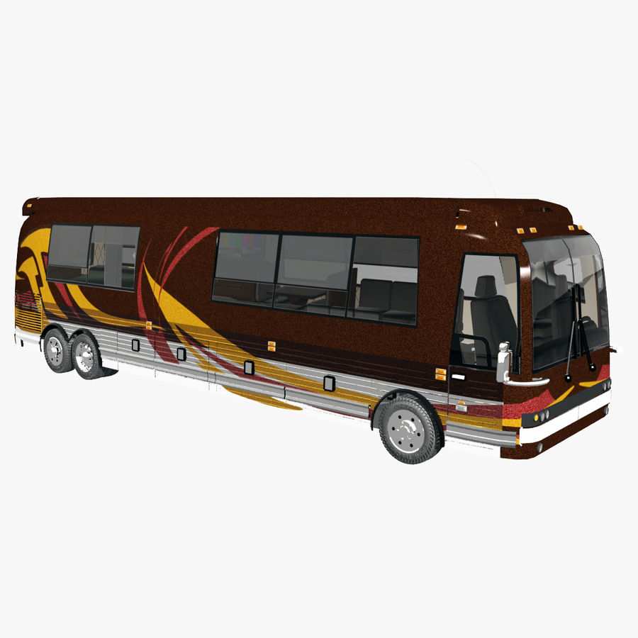 Luxury Motorhome Bus Coversion royalty-free 3d model - Preview no. 1