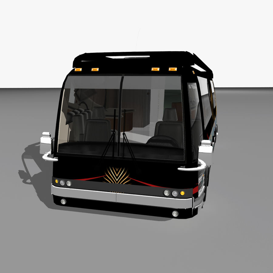 Luxury Motorhome Bus Coversion royalty-free 3d model - Preview no. 22