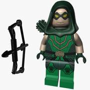 Lego Green Arrow 3d model